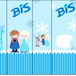 Rótulo Bis Frozen Cute