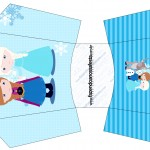 Envelope Fritas Frozen Cute