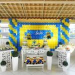 Tema: Minions – Festa da Leitora Alessandra Souza!