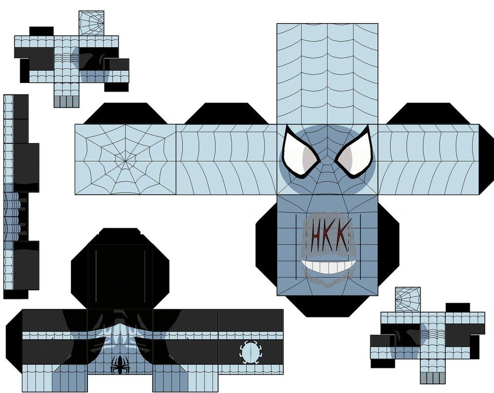 Populares Boneco 3D Homem Aranha para Imprimir e Montar XD63