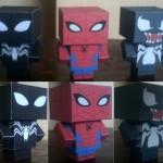 Boneco 3D Homem Aranha para Imprimir e Montar!