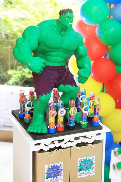 Hulk Festa Super Heróis