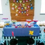 Decoração Festa Catavento: