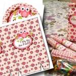 Kit de Lembrancinhas para Dia dos Professores Corujinha Floral!