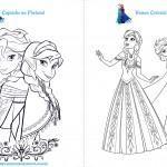 Livrinho de Atividades Frozen Página 2