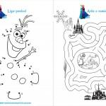 Livrinho de Atividades Frozen Página 5