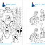 Livrinho de Atividades Frozen Página 7