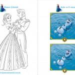 Livrinho de Atividades Frozen Página 8