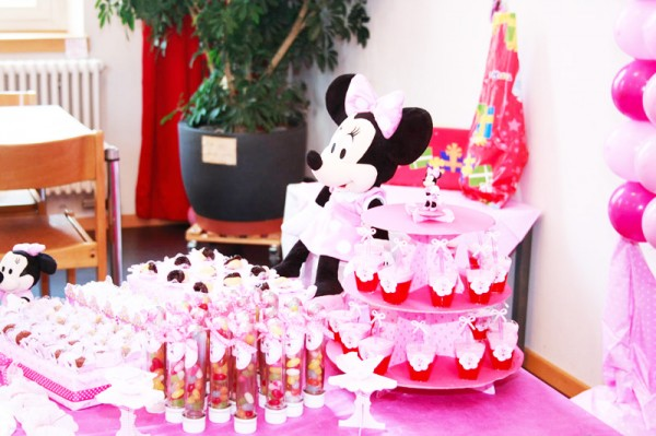 Decoração Festa Minnie Rosa: