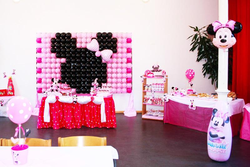 decoracao festa minnie rosa:Tema: Minnie Rosa – Festa da Leitora Mirella Pires!