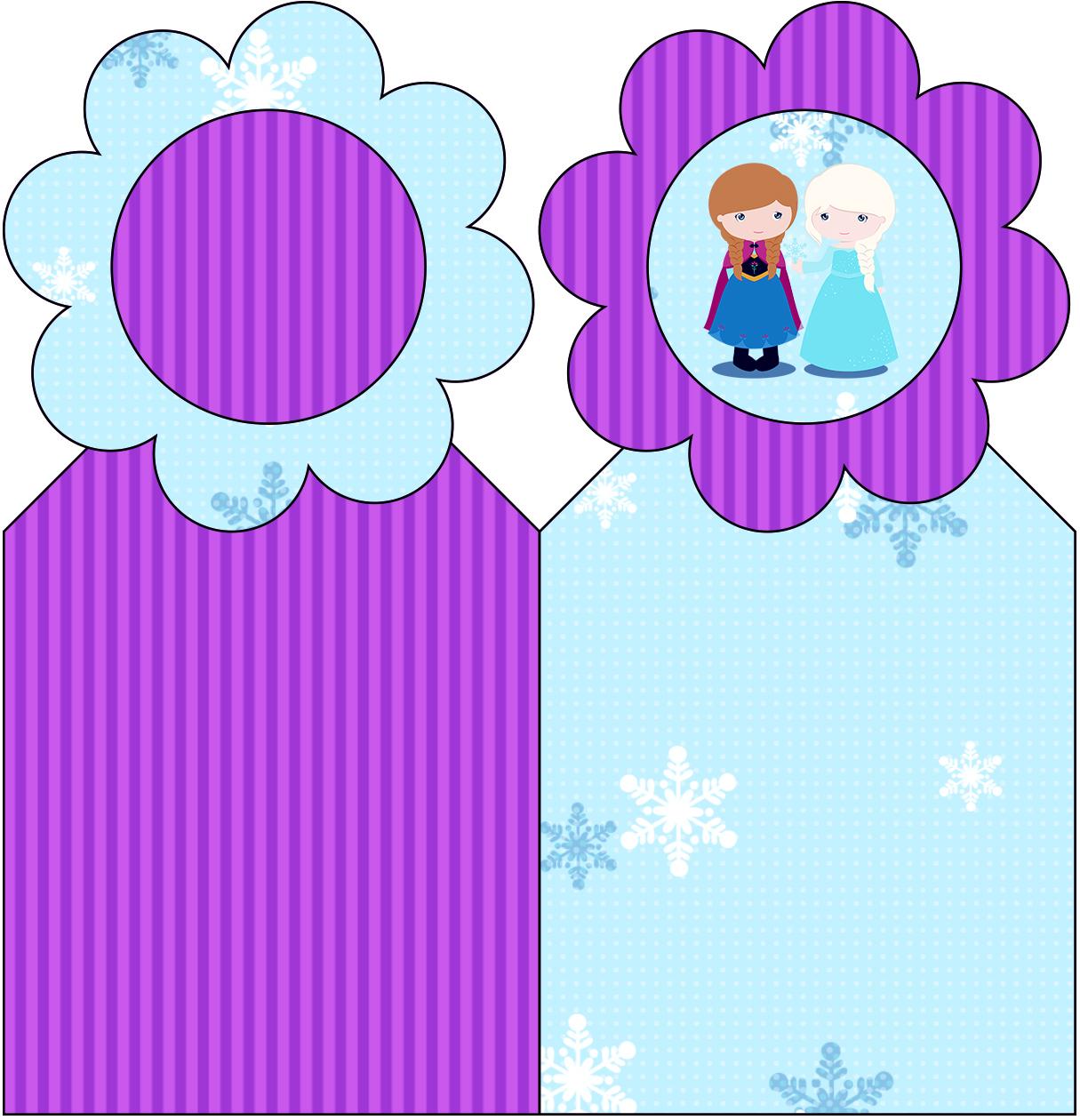 Esmalte Frozen Roxo E Azul Pictures to pin on Pinterest