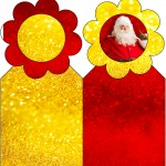 Marcador de Páginas Natal Papai Noel