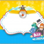 Marmita Grande Bita e os Animais para Meninos
