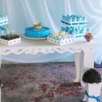 Mesa de Doces Chá de Bebê Coroa de Príncipe