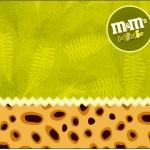 Mini M&M Fundo Safari