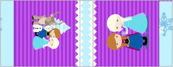 Mini Talento Frozen Cute Roxo e Azul
