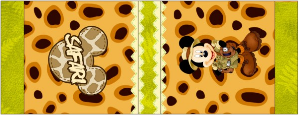 Mini Talento Mickey Safari