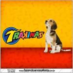 Mini Trakinas Convite Cachorrinho Beagle