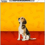 Molde Quadrado Cachorrinho Beagle