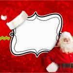 Convite Natal Papai Noel: