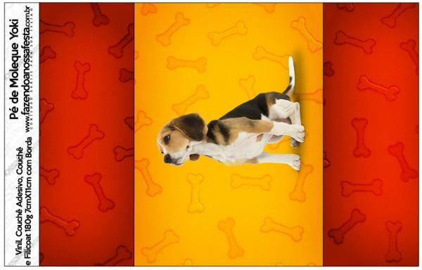 Pé de Moleque Yoki Cachorrinho Beagle