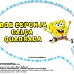 Plaquinhas Divertidas Festa Bob Esponja