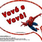 Plaquinhas Divertidas Homem Aranha
