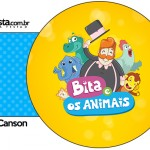 Porta Guardanapos Bita e os Animais para Meninos