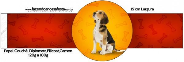 Porta Guardanapos Cachorrinho Beagle