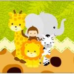 Rótulo água Safari