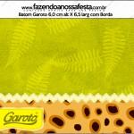 Rótulo Batom Garoto Fundo Safari