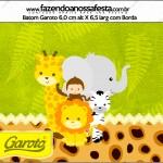 Rótulo Batom Garoto Safari