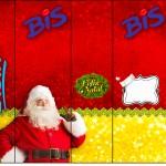 Rótulo Bis Natal Papai Noel