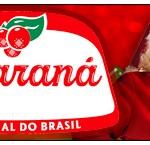 Rótulo Creminho Guaraná Natal Papai Noel