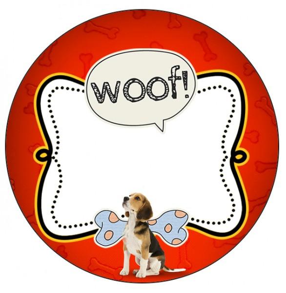 Rótulo Latinhas Cachorrinho Beagle