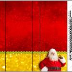 Rótulo Pirulito Mastigável Natal Papai Noel