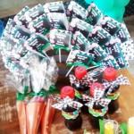 Rótulo Pirulitos Festa Fazendinha