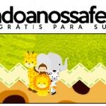 Rótulo Pote Papinha Safari