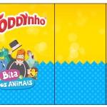 Rótulo Toddynho Bita e os Animais para Meninos