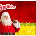 Rótulo Toddynho Natal Papai Noel