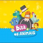 Rótulo Tubetes Bita e os Animais para Meninos
