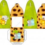 Caixa com Foto Safari