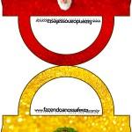 Saquinho de Balas Bolsinha Natal Papai Noel