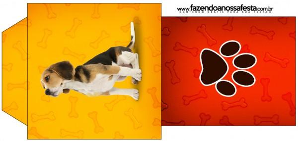 Saquinho de Chá Cachorrinho Beagle