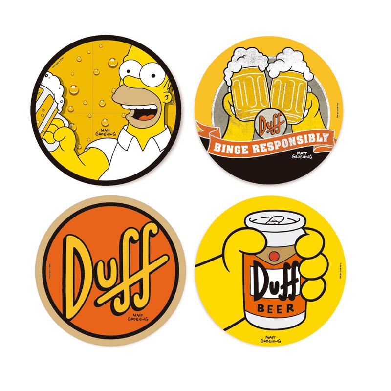 Porta Copos Churrasco dos Simpsons