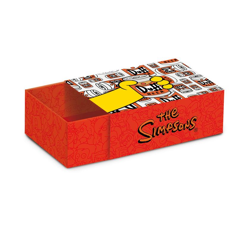 Caixa com Luva Churrasco dos Simpsons