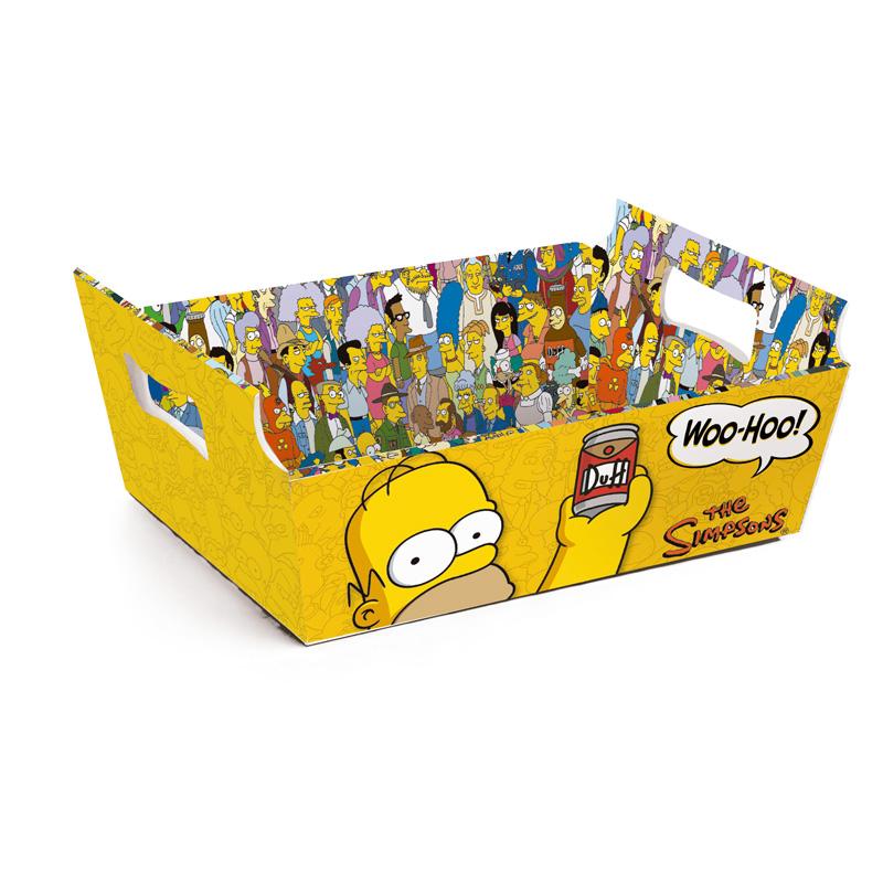 Cesta de Papel Churrasco dos Simpsons