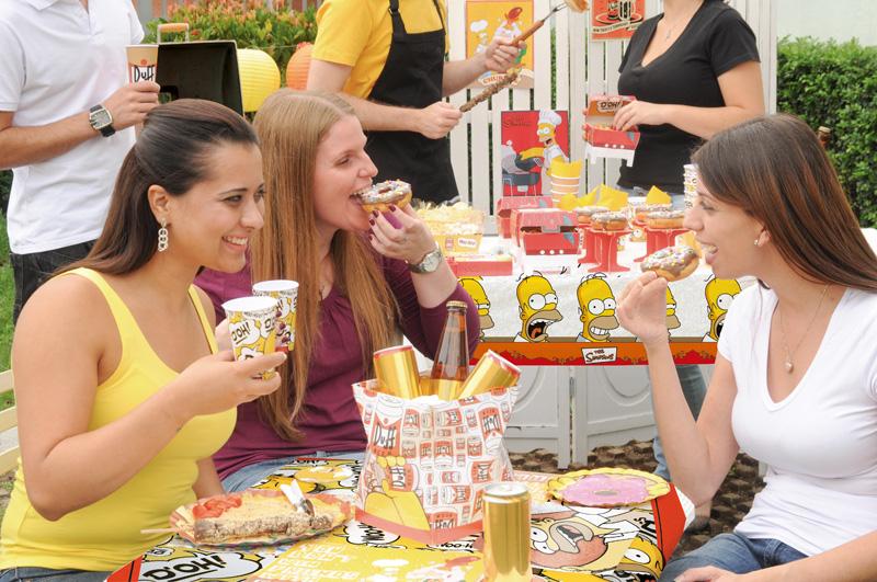 Churrasco dos Simpsons