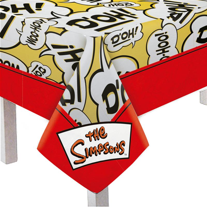 Toalha Churrasco dos Simpsons