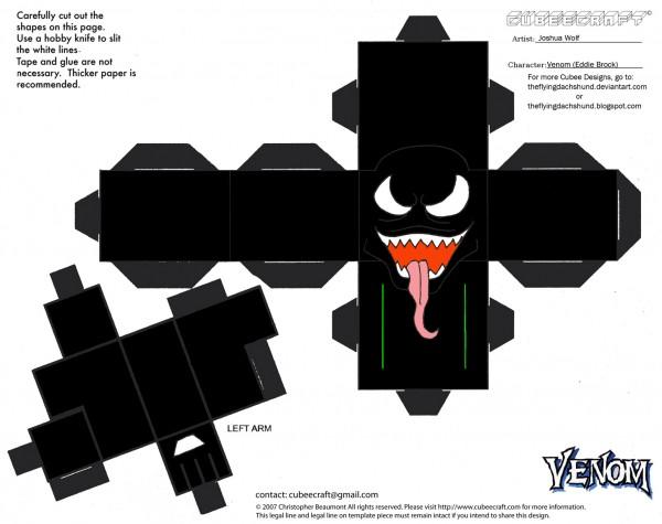Boneco 3D Venom - Parte 1